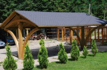 Carport. Überblick über die Baumaterialien
